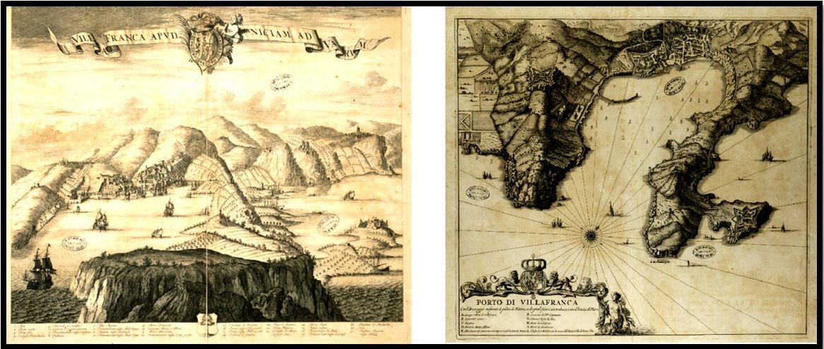 Villefranche-sur-Mer au 16-17ème siècle - Projet Oracle
