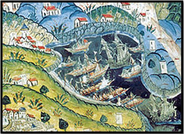 La rade de Villefranche en 1543 - Projet Oracle